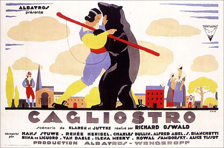 Cagliostro poster