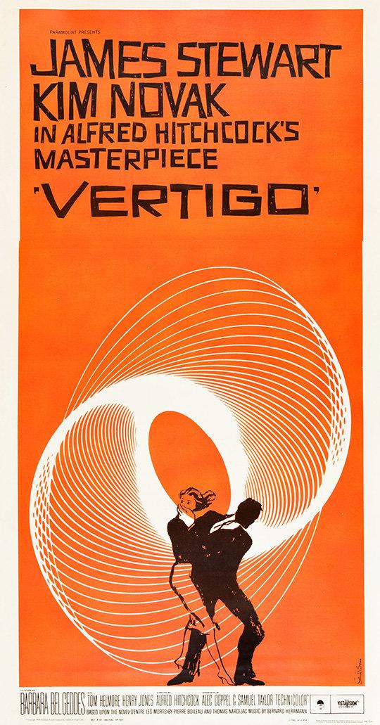 "Movie Poster of the Week: Alfred Hitchcock\'s ""Vertigo"" on Notebook ..."