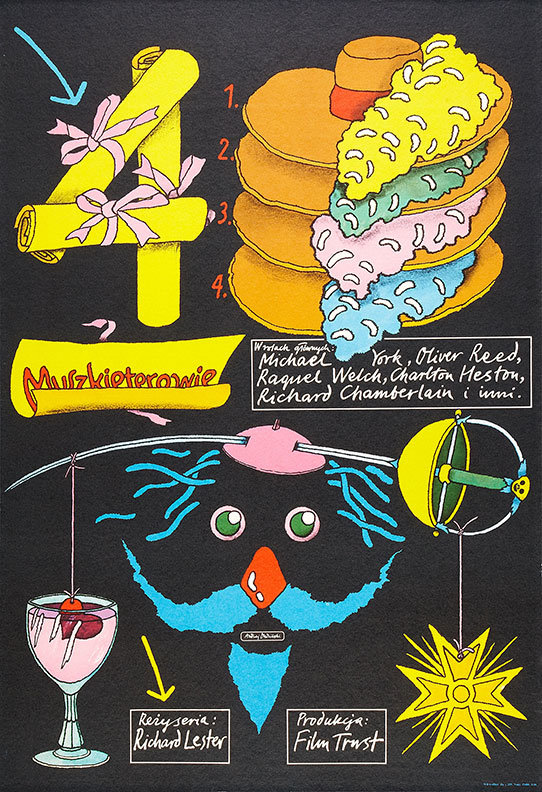 """Movie Poster of the Week: Richard Lester's """"The Three"""