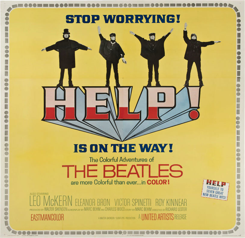 beatles help film deutsch