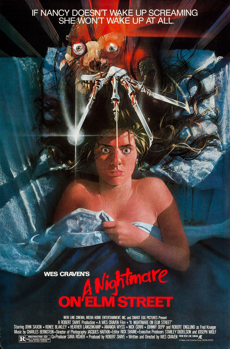 Image result for nightmare on elm street film poster