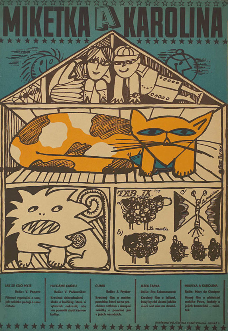 Movie Poster of the Week Cats in Czech and Polish Movie
