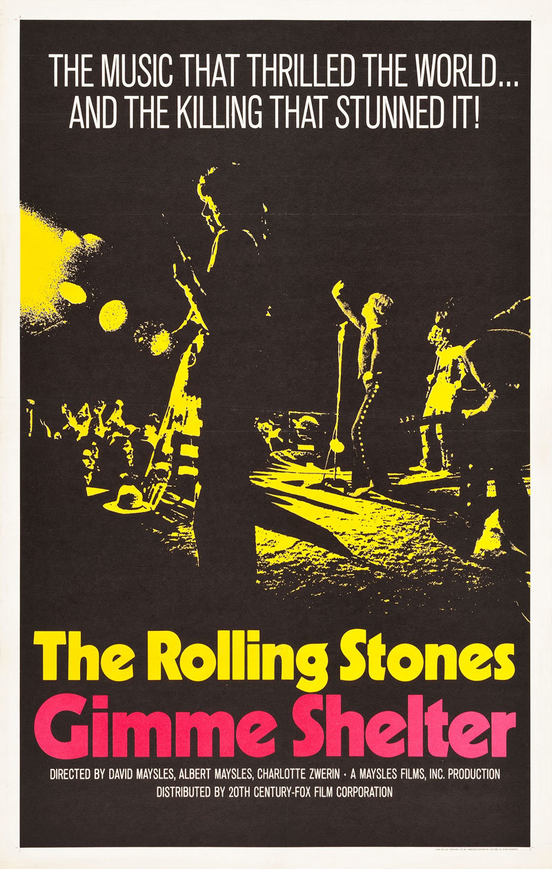 Movie Poster Of The Week Posters Maysles Brothers