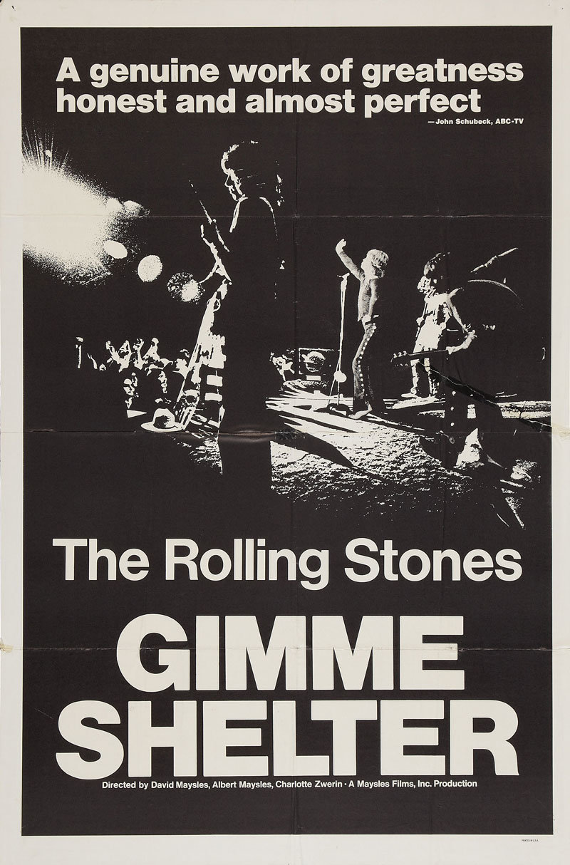an analysis of the dionysianism in gimme shelter a film by albert and david maysles and charlotte zw
