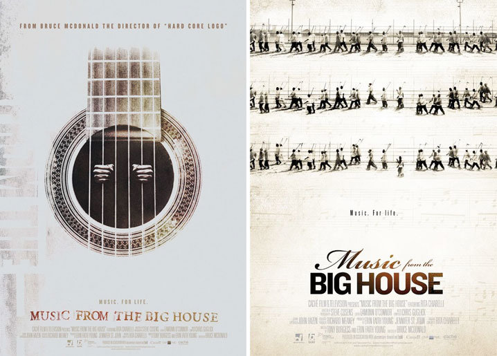 Movie poster of the week music from the big house on for House music documentary