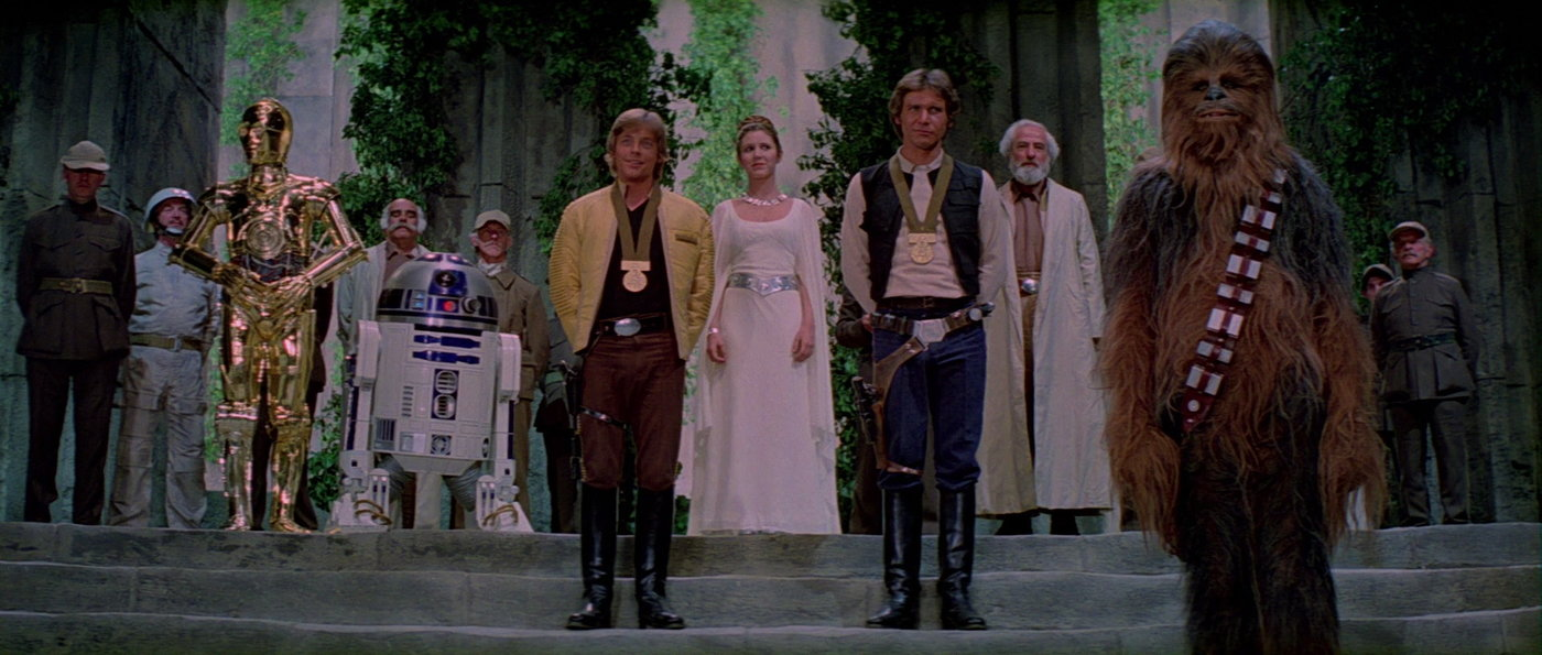 """star wars"""" dialogue: iv. the griffith legacy on notebook 