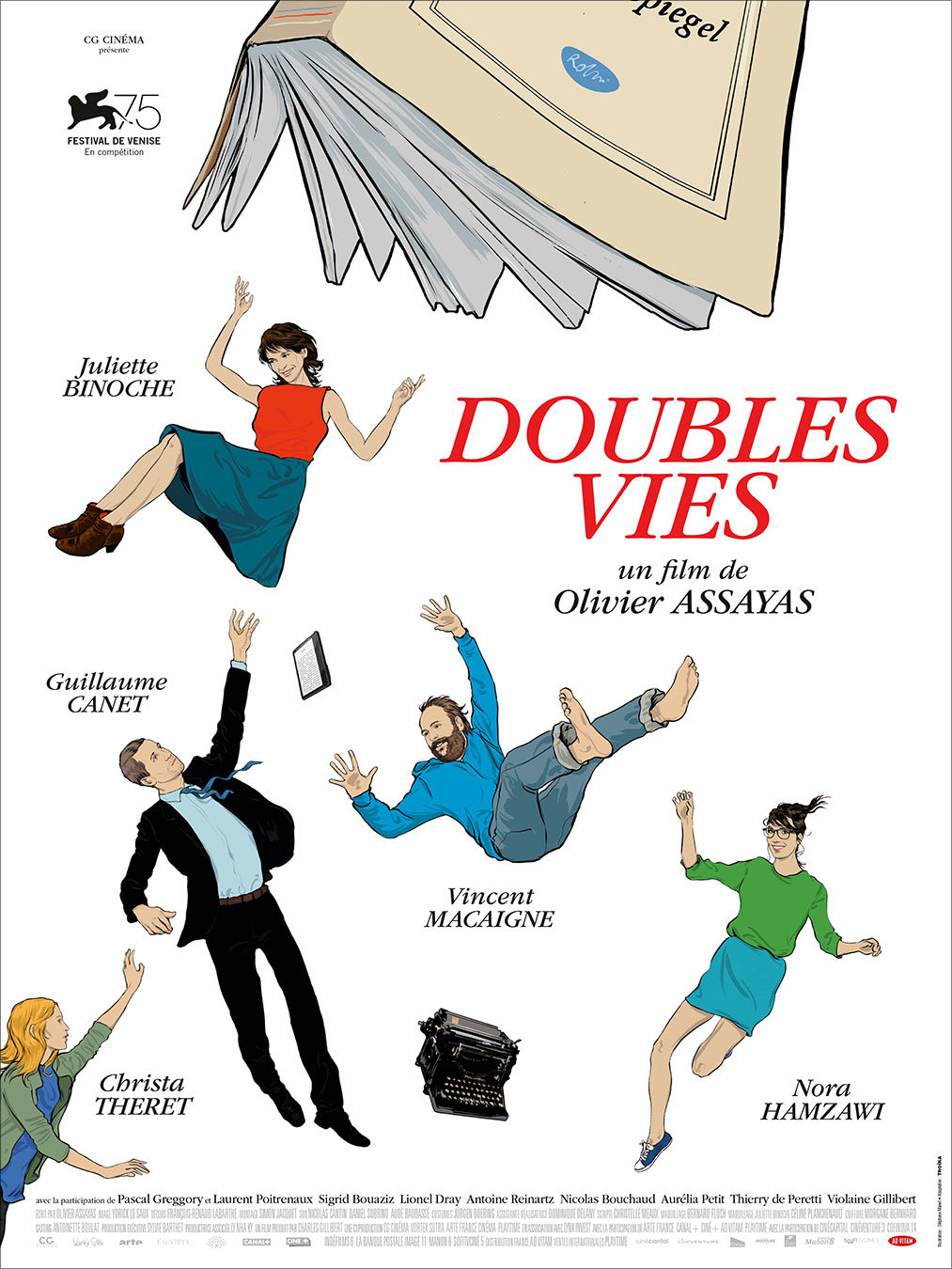 """Movie Poster of the Week: Olivier Assayas's """"Non-Fiction"""" on"""