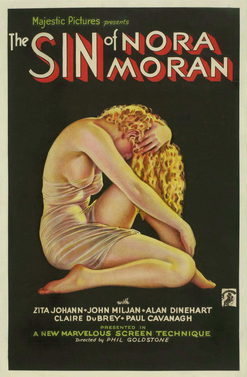 The Sin of Nora Moran poster