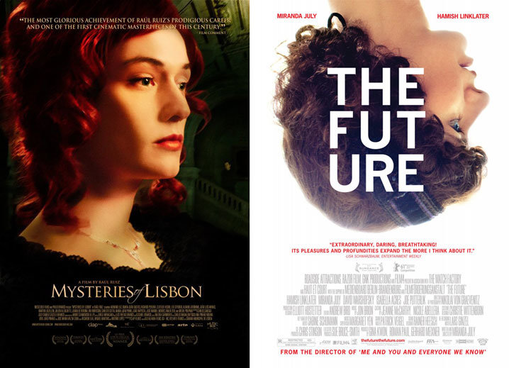 Mysteries of Lisbon and The Future posters