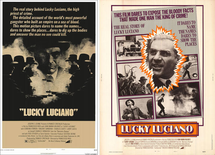 Lucky Luciano posters