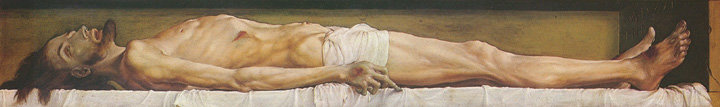 Holbein's The Body of the Dead Christ in the Tomb