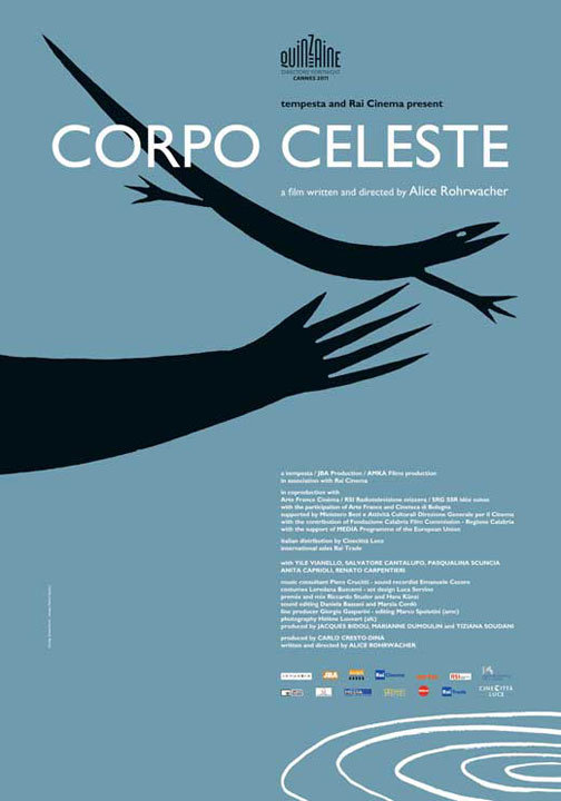 Corpo Celeste movie poster