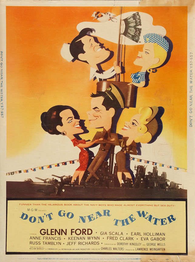 Don't Go Near the Water poster