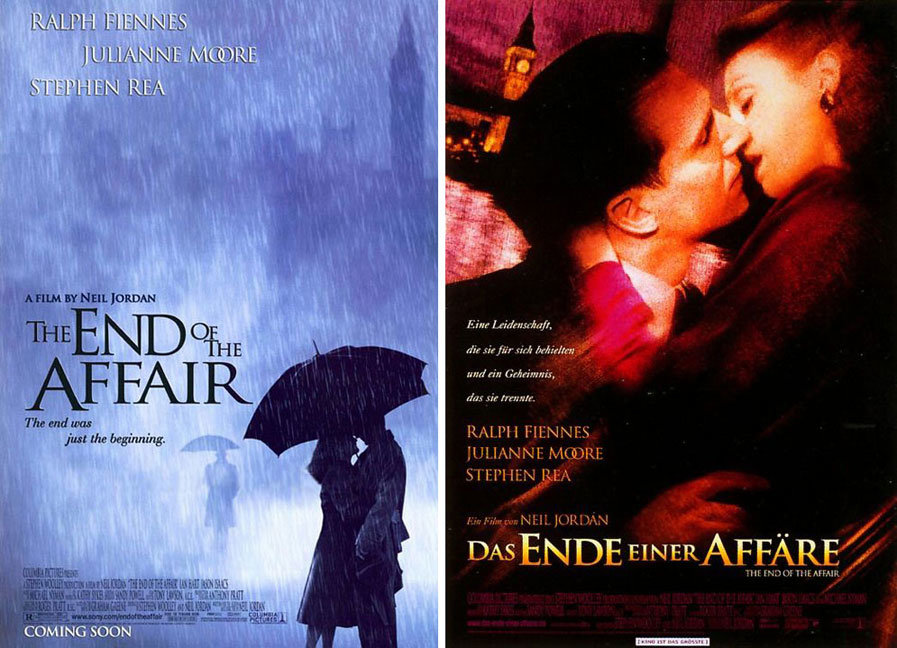 The End of the Affair posters