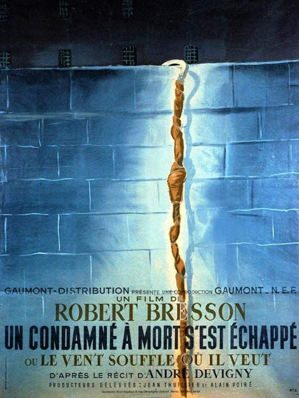 A Man Escaped poster