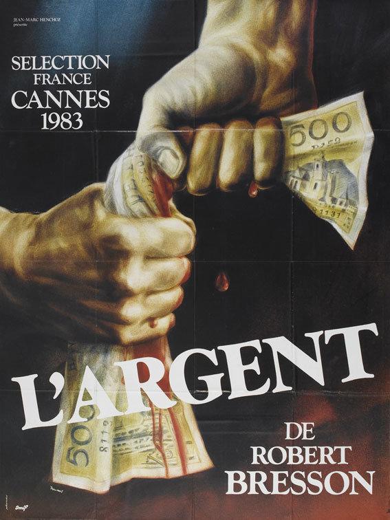 L'Argent poster