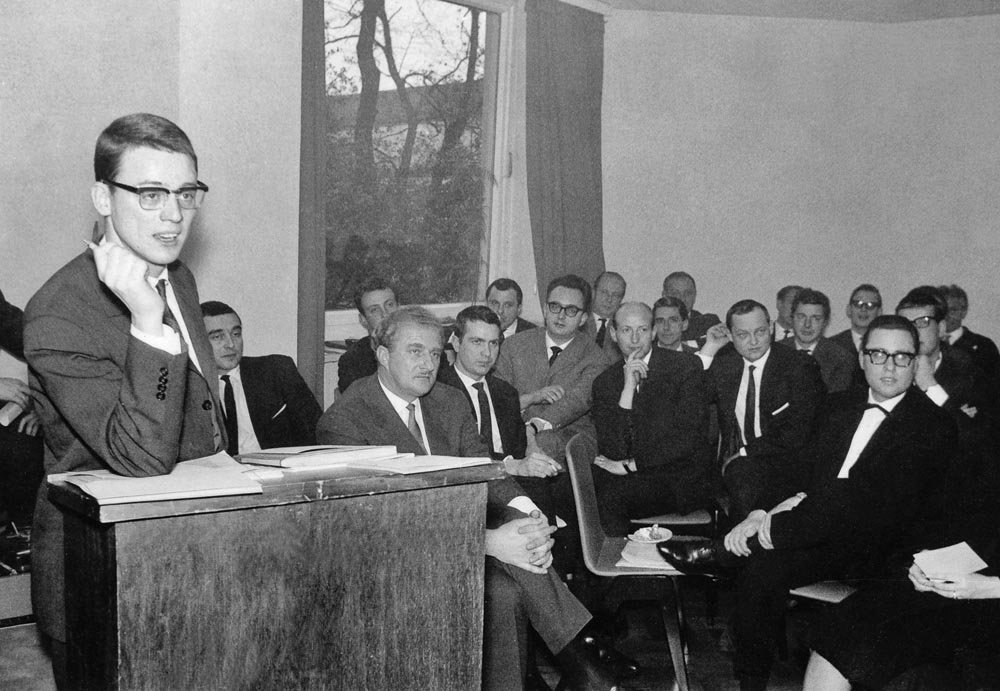 Oberhausen Manifesto press conference, 1962