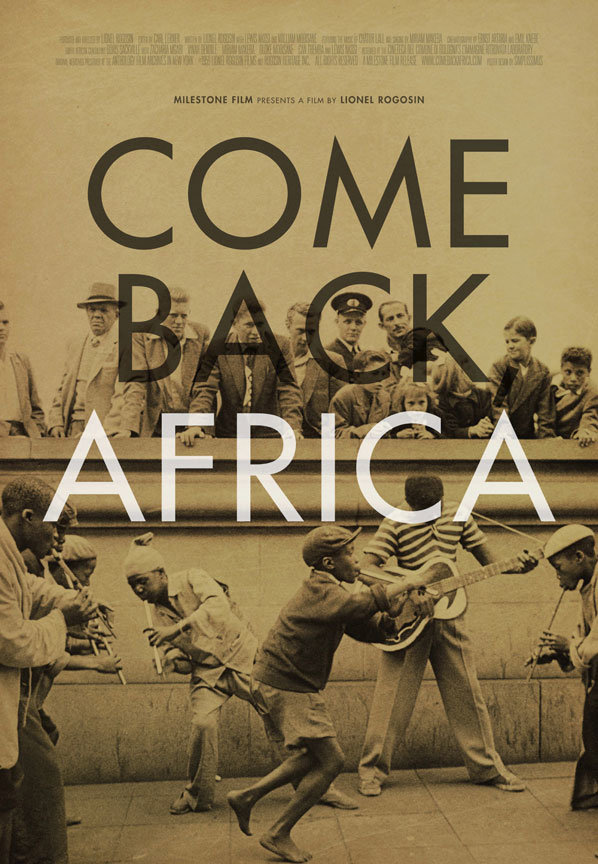 Come Back Africa poster