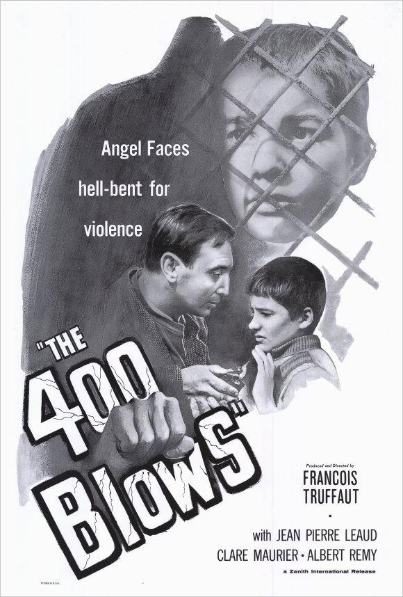 The 400 blows Francois Truffaut  movie poster print #2