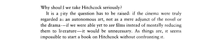 Robin Wood's Introduction to Hitchcock's Films Revisited