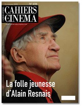 Cahiers du Cinéma: Alain Resnais
