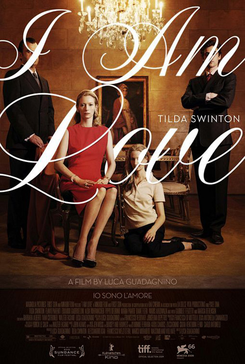 Movie Poster Of The Week I Am Love And Curious Case Tilda Swinton